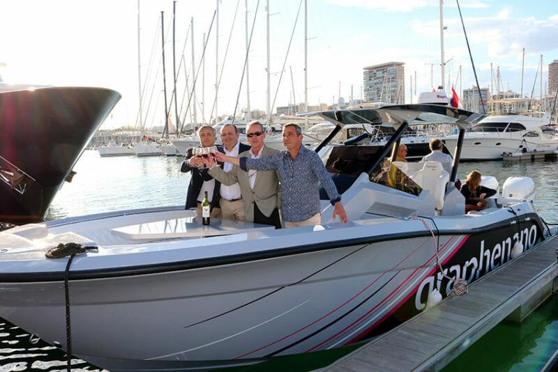 bota barco con grafeno