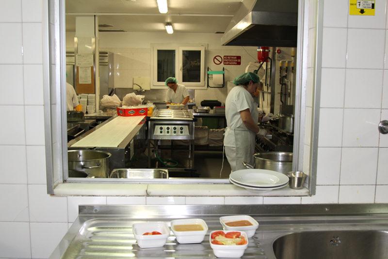 cocina hospital intolerantes