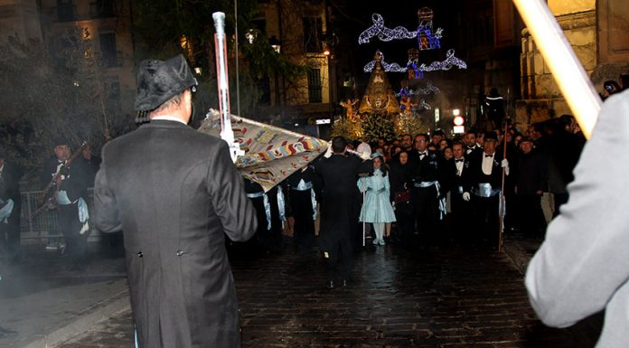 arca cerrada procesion Fiestas yecla