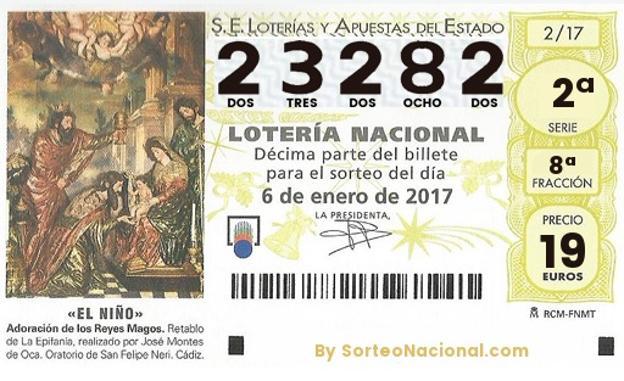 lotería yecla sorteo del niño