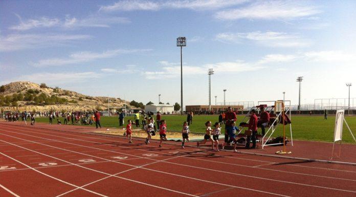 complejo polideportivo juan palao pistas atletismo yecla instalaciones deportivas prueba atlética
