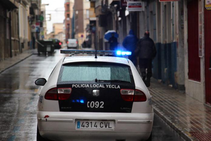 encubrimiento policía retrovisores