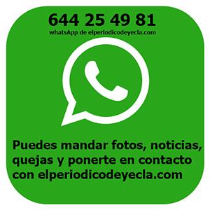 número de whatsapp de elperiodicodeyecla
