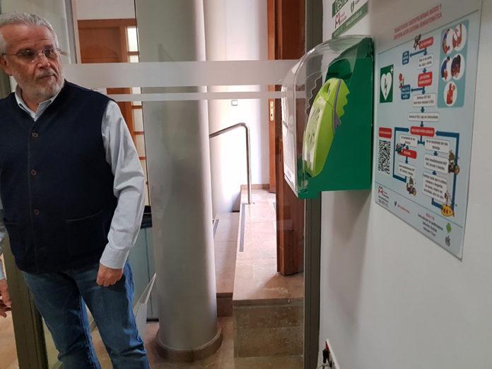 desfibrilador Ángel del Pino