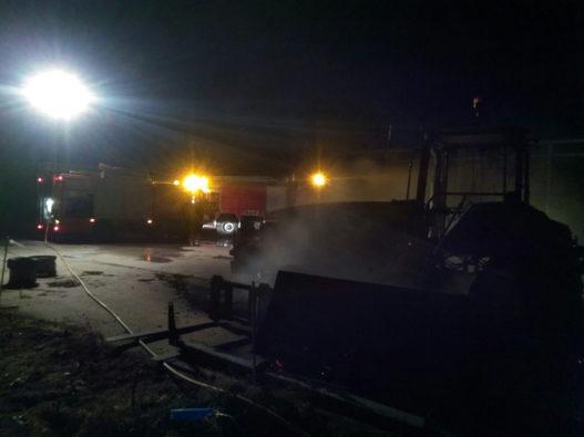 incendio maquinaria agrícola