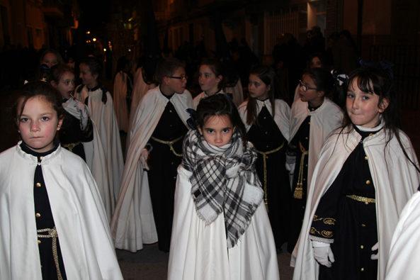 procesión enterramiento