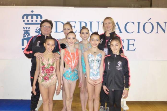 gimnasia rítmica yeclana podio ourense