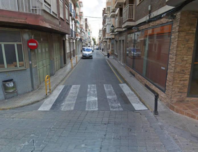 calle corredera de Yecla