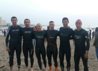 Todos finishers triatlon arabí yecla peñiscola