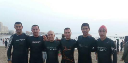 Todos finishers triatlon arabí yecla peñiscola