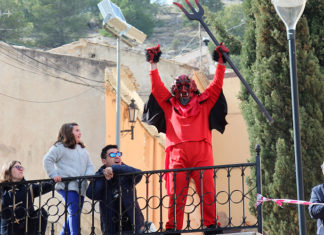 procesion resucitado yecla diablico