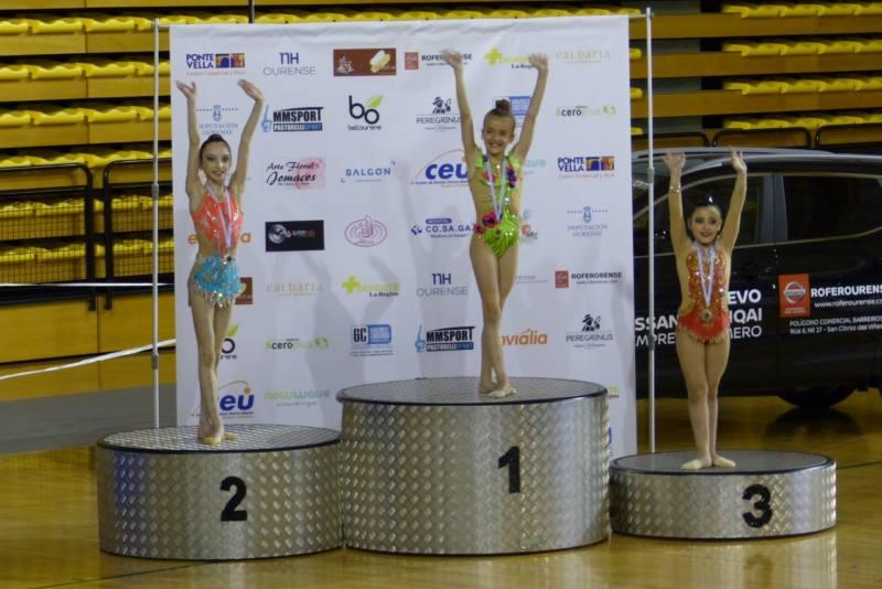 gimnasia rítmica yeclana paula hernández podio ourense