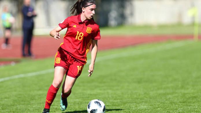 Eva Navarro Inglaterra UEFA.com