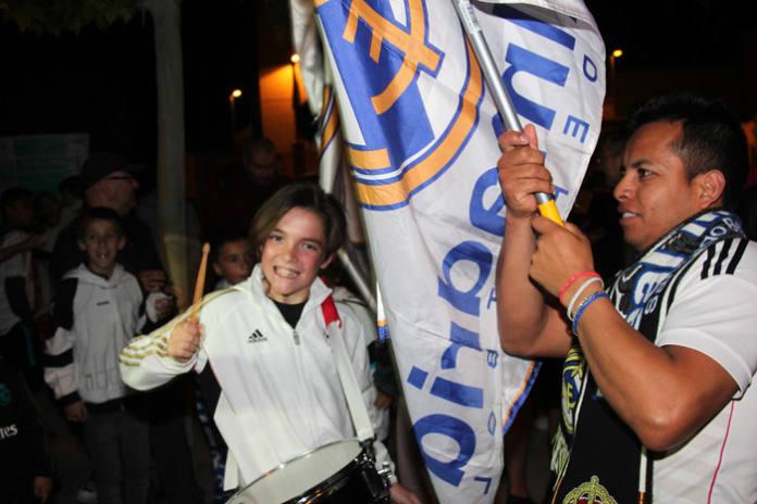 madridistas celebración