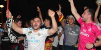 madridistas celebración champions