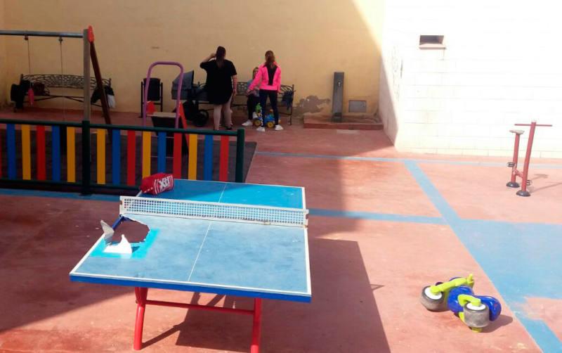 destrozos mesa ping pong