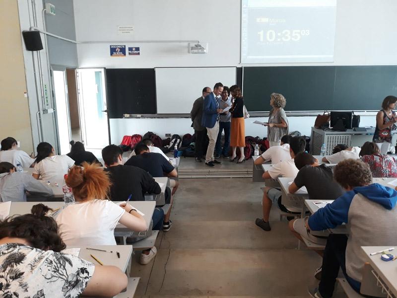 exámenes selectividad EBAU universidad popular