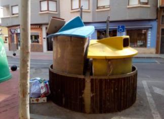 reciclaje protesta