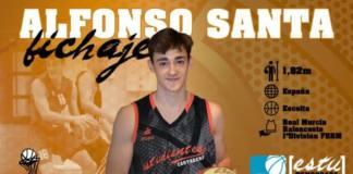 alfonso santa liga eba baloncesto cartagena