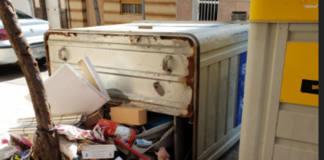 contenedores san isidro vandalismo