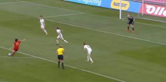 eva navarro tercer mejor gol uefa