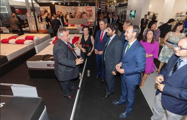 Feria mueble Yecla inauguración