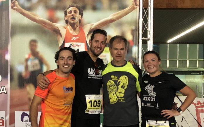 fondistas soria cáncer medias maratones