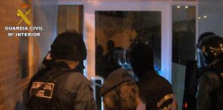 entrada de la guardia civil al domicilio