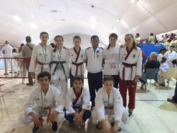 medallas de los taekwondo en valencia taekwondistas yeclanos