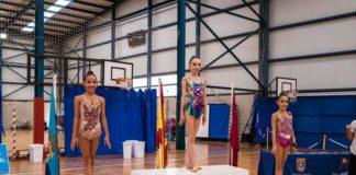 gimnasia rítmica de yecla podio histórico