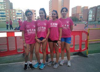 Grupo ADAYeclano atletas sub16 Campeonato de España de Clubes Sub16
