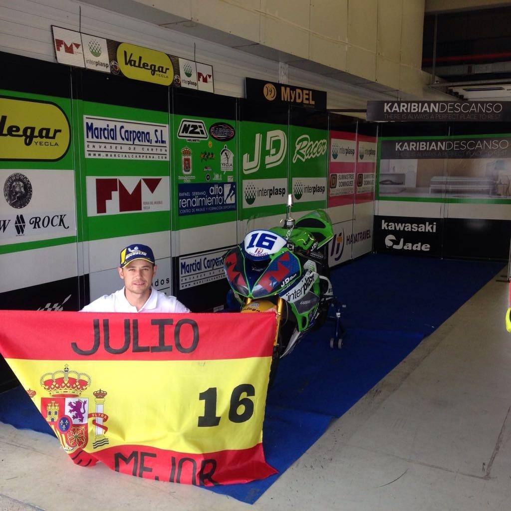 julio david palao subcampeón de España de Open 600