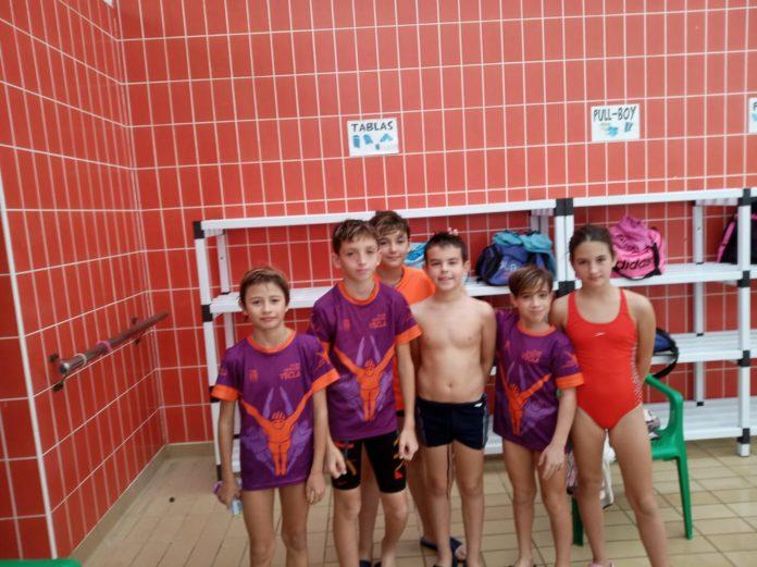 liga natación 2018