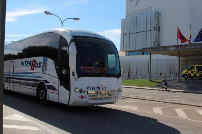 autobus murcia pinoso línea transporte