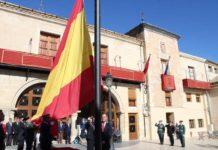 bandera de españa doce de octubre