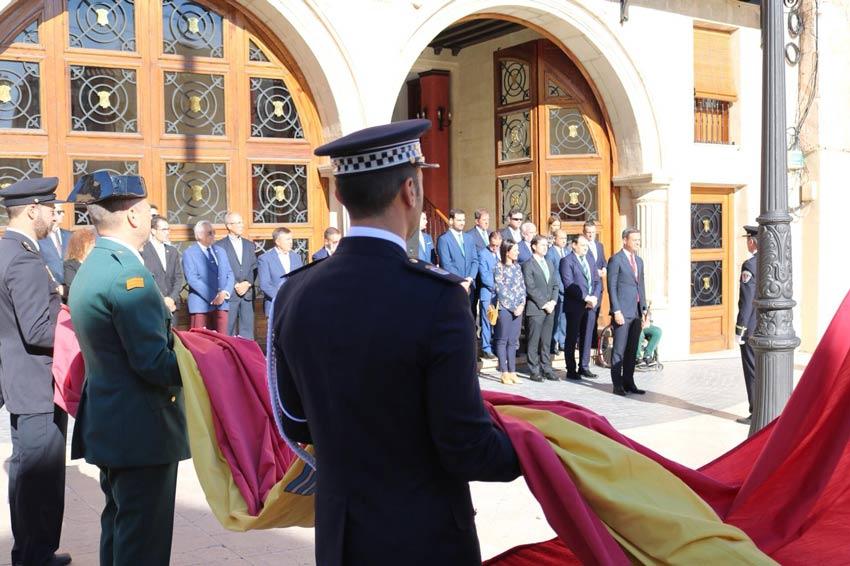homenaje bandera española