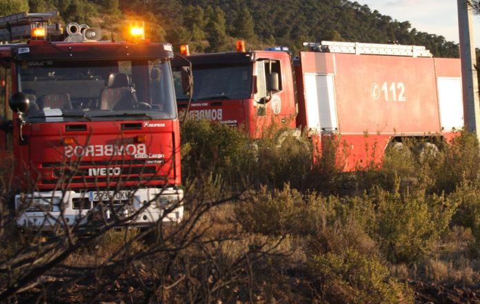 bomberos incendio intoxicación