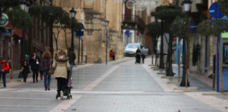 calle, gente, yeclanos
