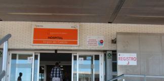 puerta hospital virgen del castillo yecla
