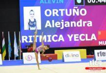 alejandra ortuño gimnasia rítmica