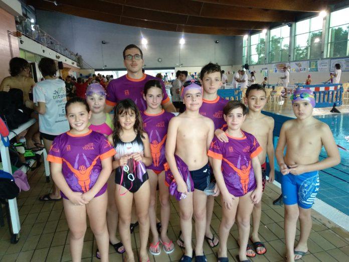club natación yecla benjamín alevín