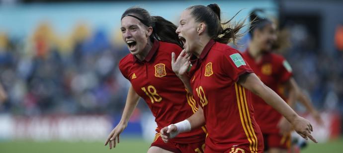 eva navarro campeona del mundo selección española sub 19 europeo