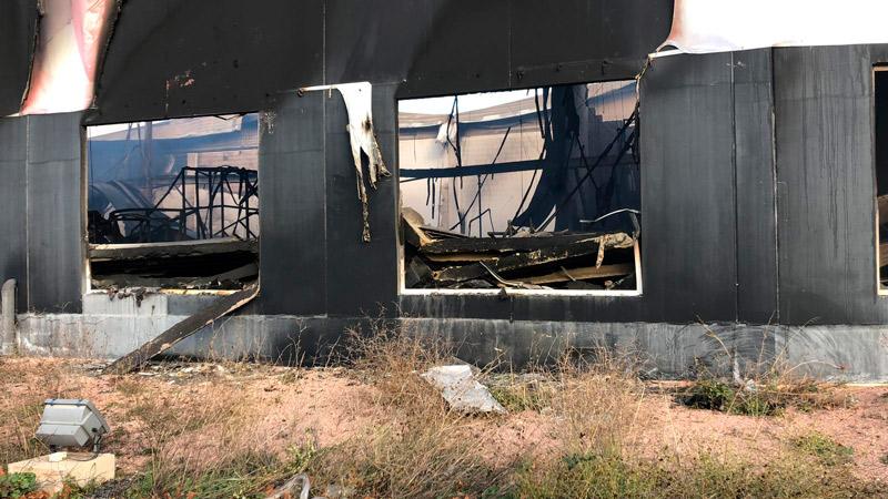 incendio nave colchón