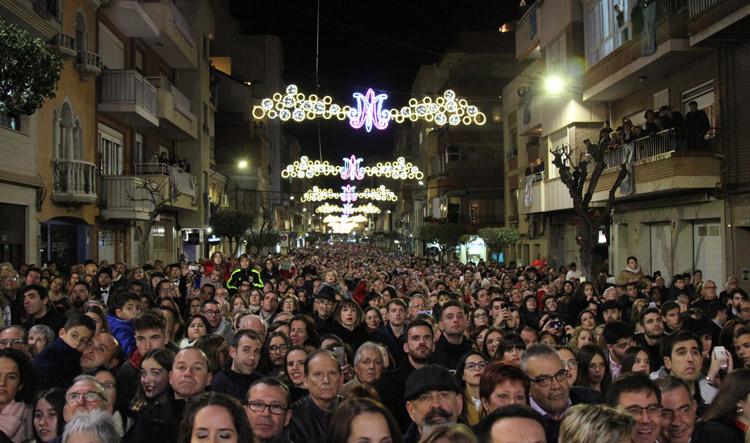 procesión virgen del castillo yecla