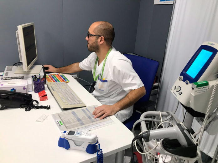 triaje en urgencia del hospital de Yecla