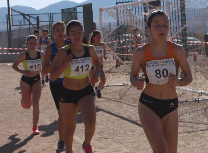 Carmen-ada-yeclano campeonato de clubes de campo a través región de murcia
