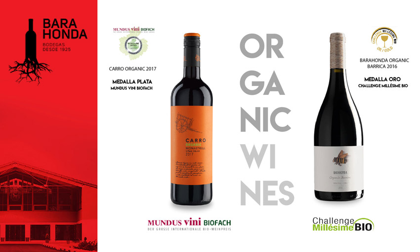 barahonda vinos premio ecologicos