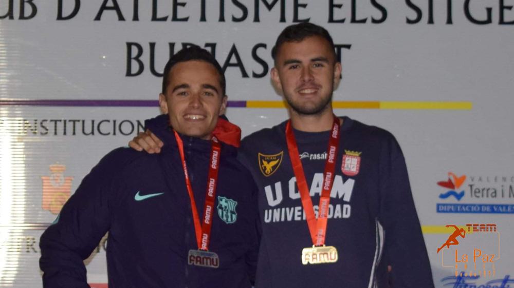 Iván López Burjassot subcampeón regional