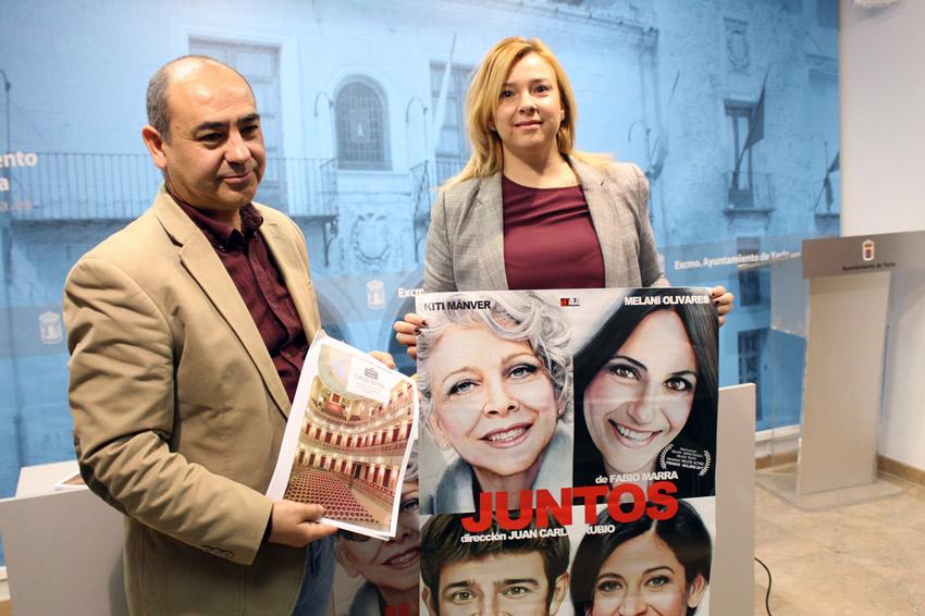 Jesús Verdu y Nuria Yago Teatro Concha Segura