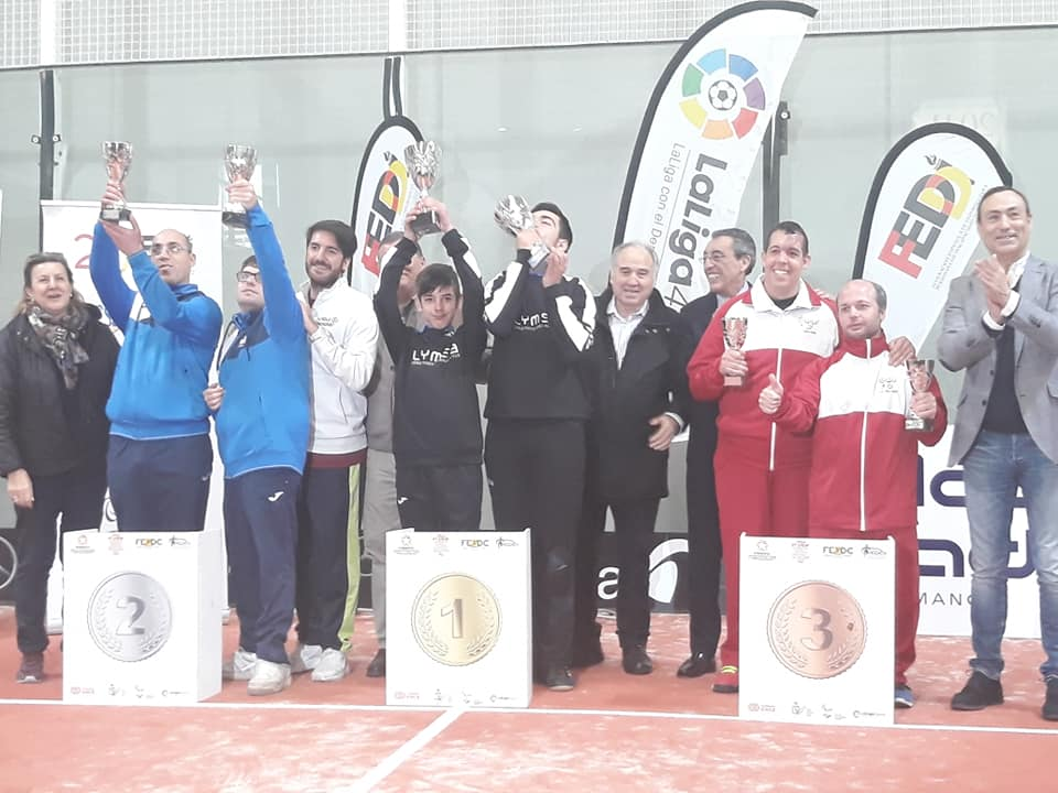 campeonato de españa de pádel adaptado campeones